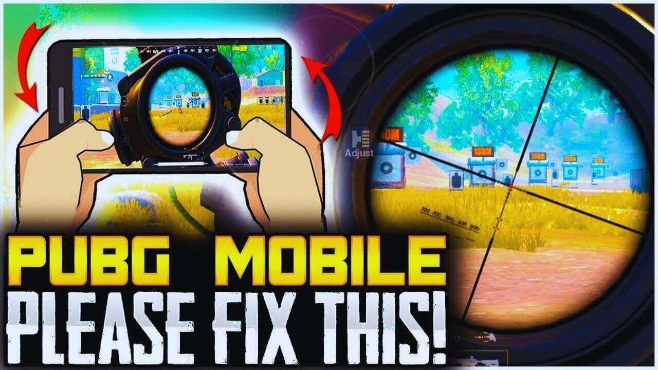 How to Fix 6x Scope adjust glitch in PUBG Mobile
